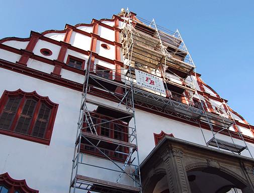 Rathaus Uhr Plauen
