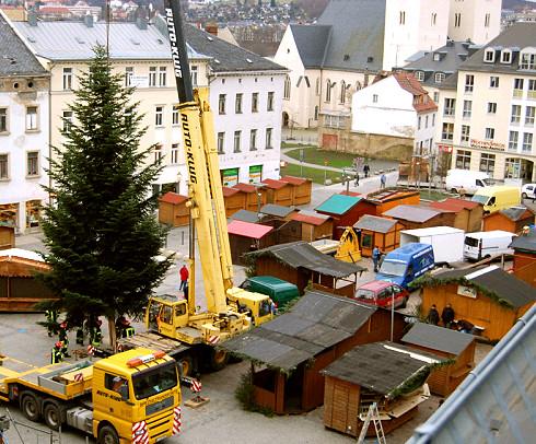 Weihnachtsbaum Plauen