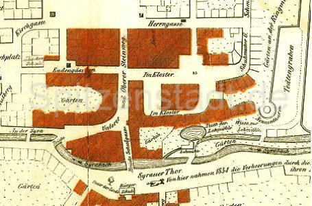 Plauener Stadtbrand 1844