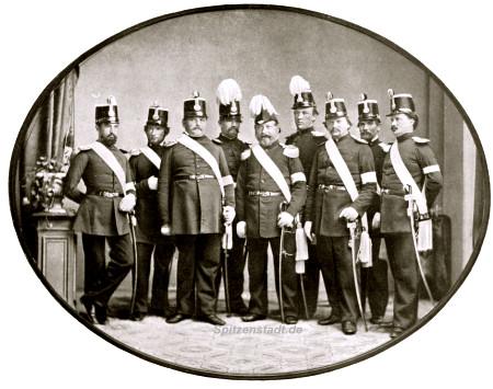 Offizierskorps_Kommunalgarde_1866