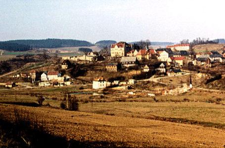 Das versunkene Dorf Pöhl