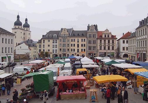 Handwerkermarkt Plauen