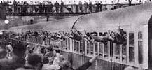 Flüchtlingszug in Hof