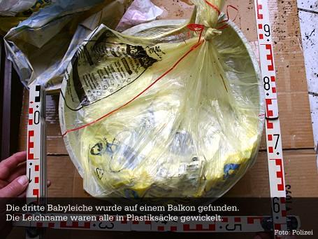 Babyleichen Plauen - Müllsack