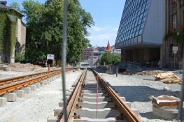 Bauarbeiten Neundorfer Straße 4