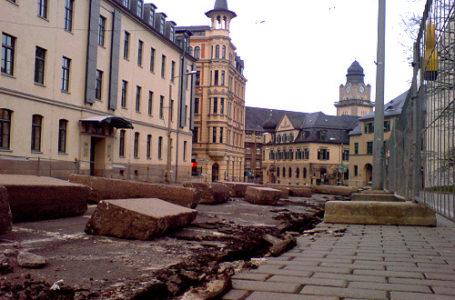 Neundorfer Straße ab sofort gesperrt – Bauarbeiten haben begonnen