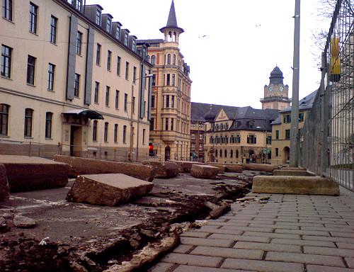 Bauarbeiten Neundorferstraße