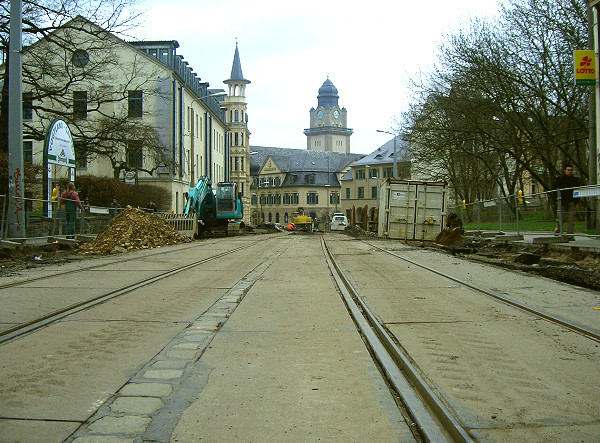 Bau Neundorfer Straße 01