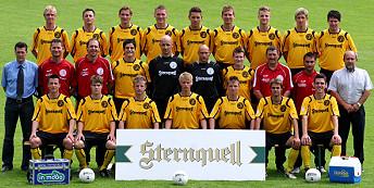 Regionalliga VFC Plauen Mannschaft 08/09