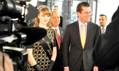 Begrüßung Guttenberg