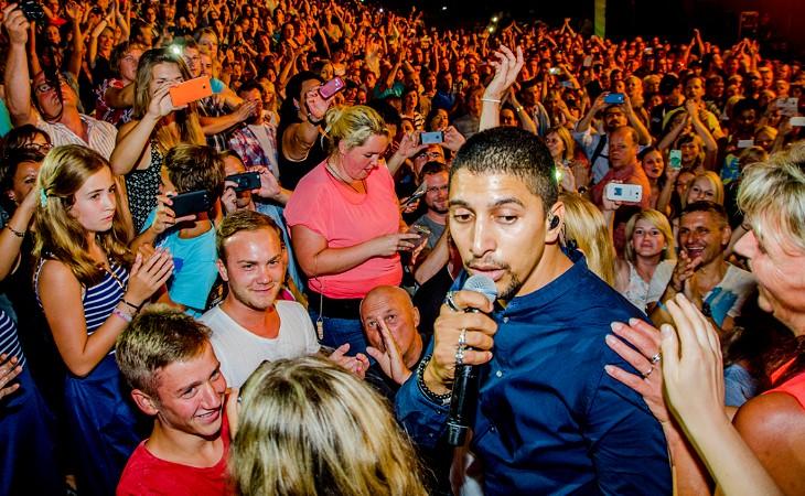 Andreas Bourani live im Parktheater Plauen