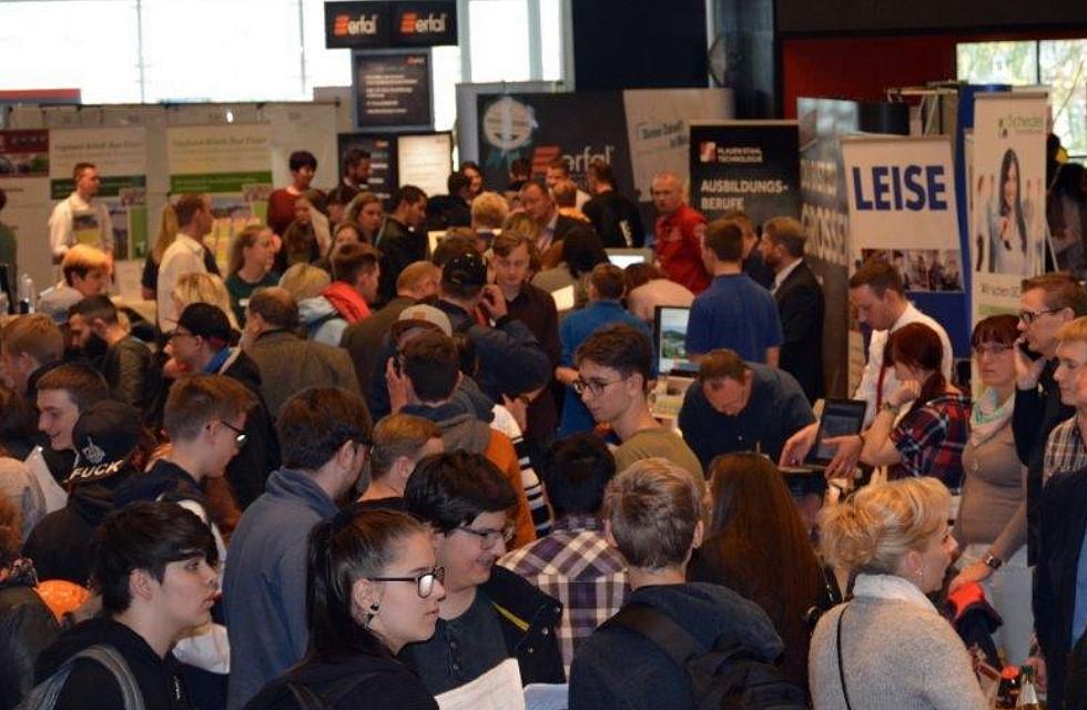 Ausbildungsmesse Vogtland mit 120 Unternehmen