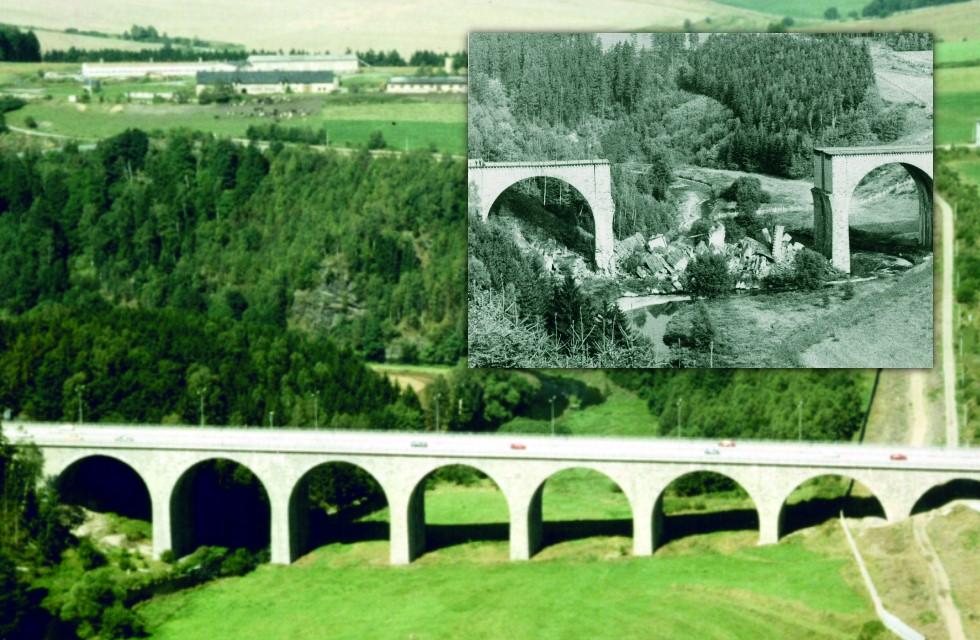 Forum K zeigt Schau über Autobahnbrücke Rudolphstein-Hirschberg