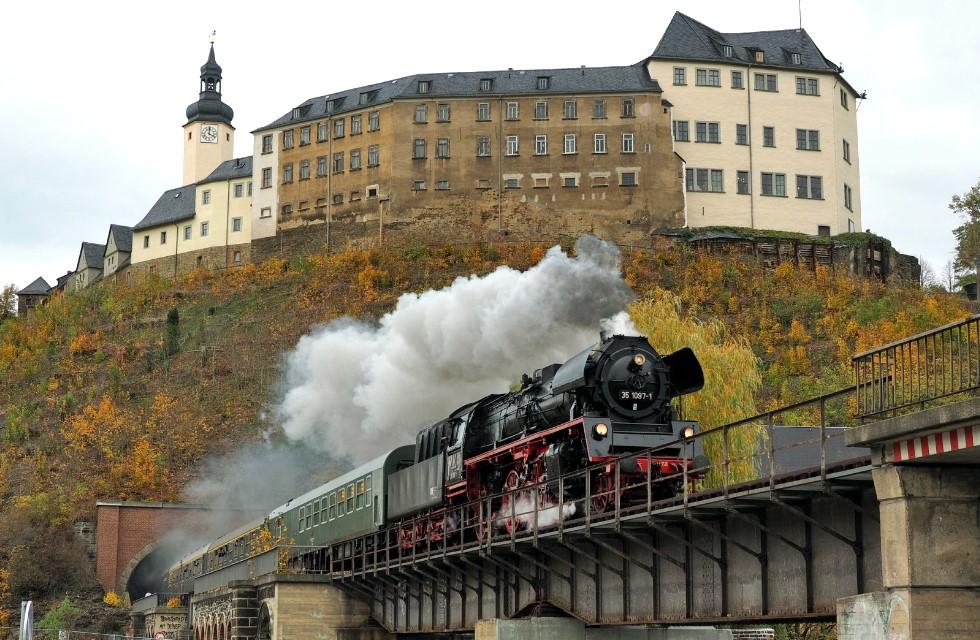 Dampfzugtage im Vogtland