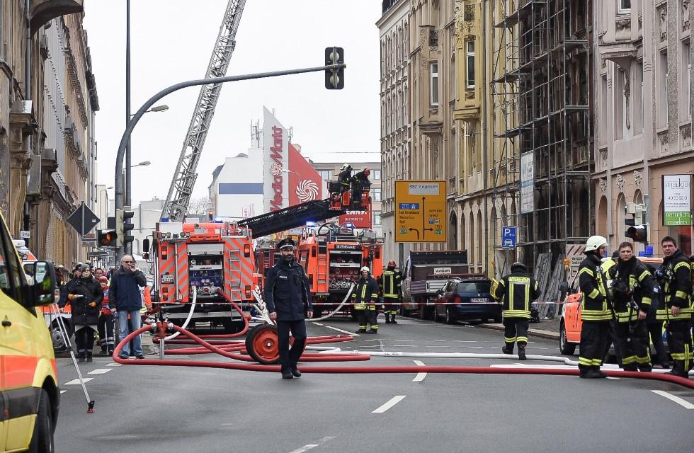 Großbrand in Plauen: Tote sind zwei Deutsche