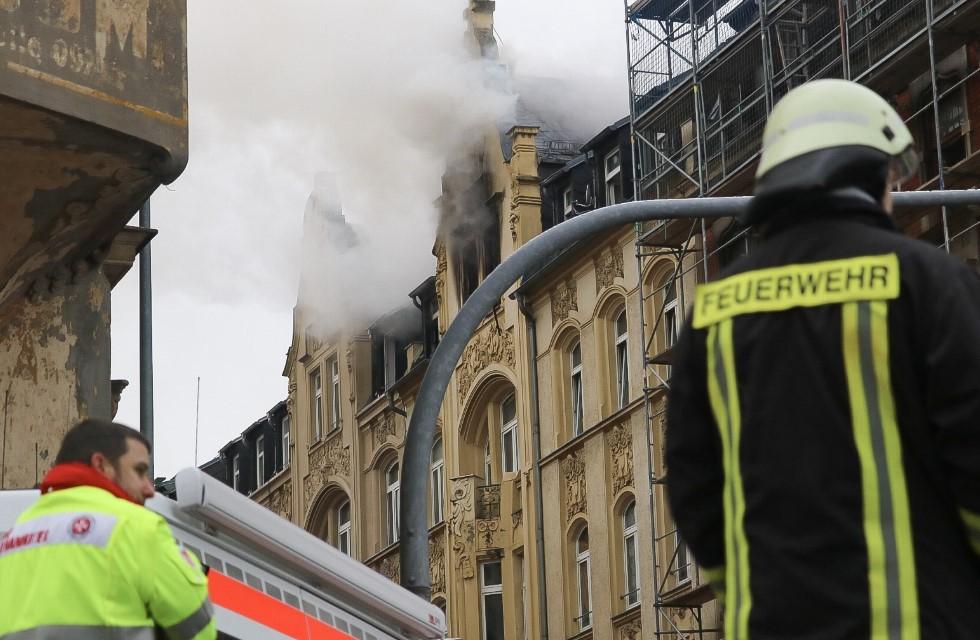 Brandstiftung: Mann soll Brand in Plauen gelegt haben