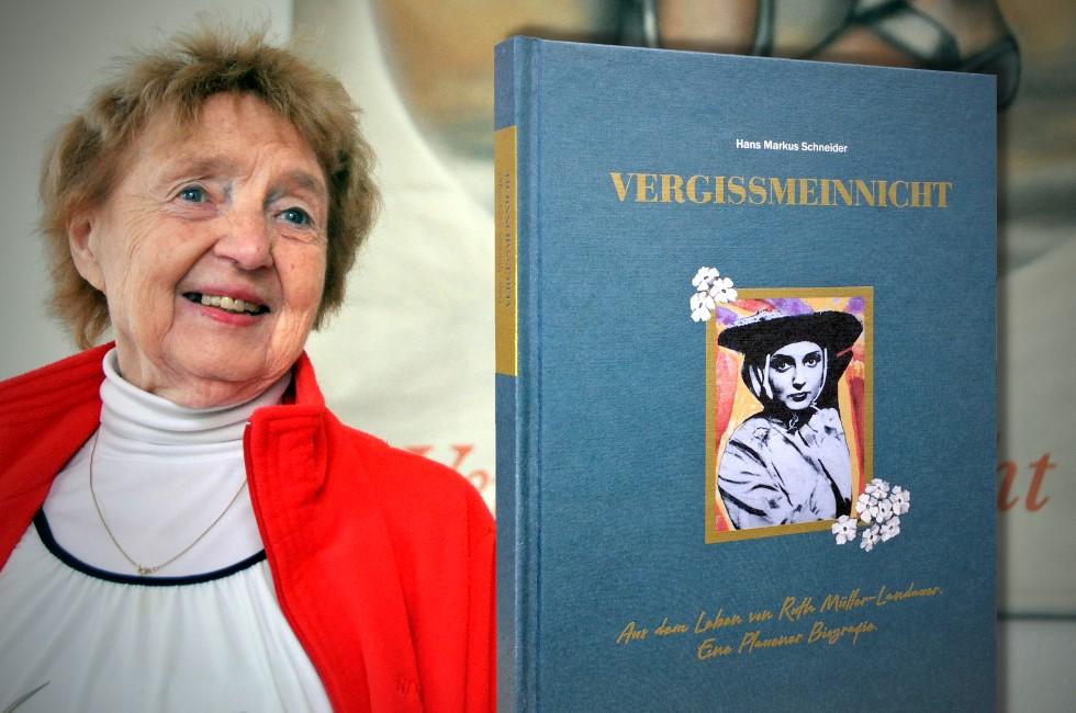 Plauens Ehrenbürgerin Ruth Müller-Landauer