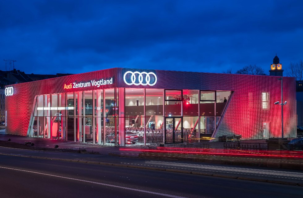 Carl Gruppe eröffnet in Plauen neues Audi Zentrum Vogtland