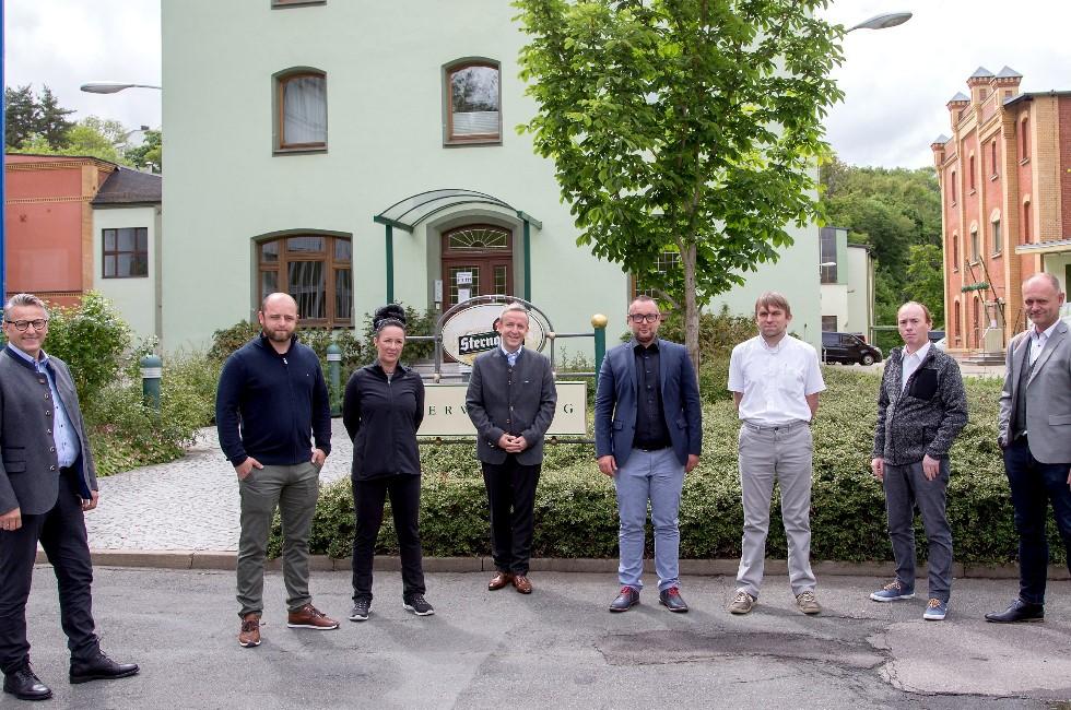 Minister spricht in Plauen mit vogtländischen Gastronomen