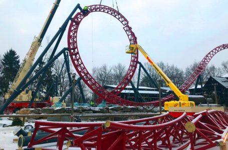Dynamite Achterbahn: Deutschlandpremiere im Vogtland wächst
