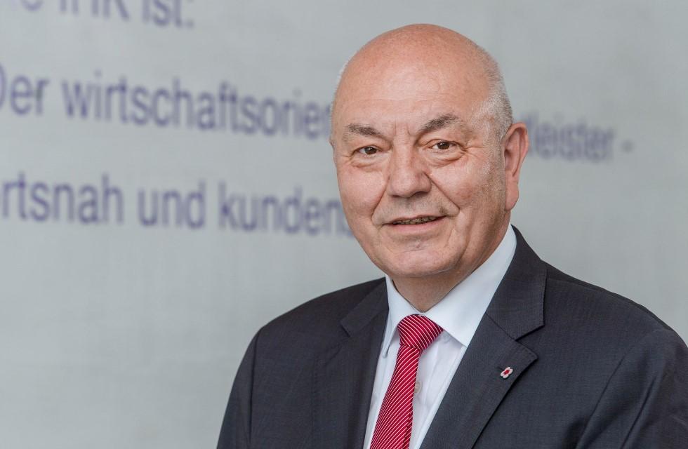 Dieter Pfortner zum Präsidenten der IHK Chemnitz gewählt