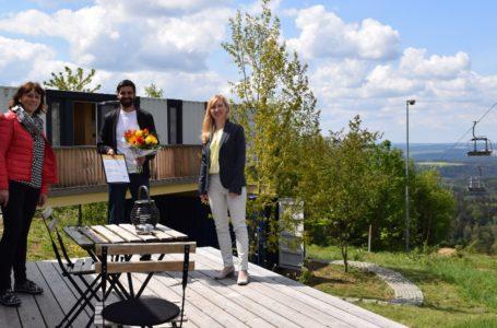Drei Sterne für Container Lofts Schöneck
