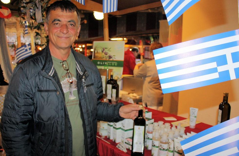 Ein Grieche auf Kurzurlaub in Plauen