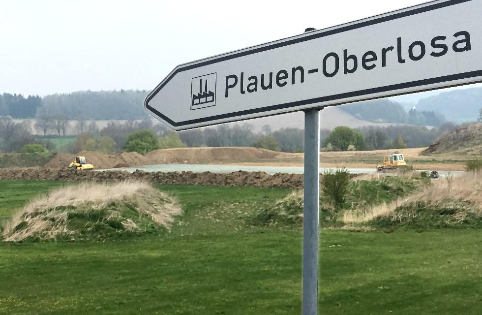 Industriegebiet Plauen-Oberlosa: Erweiterung um 20 Hektar geplant