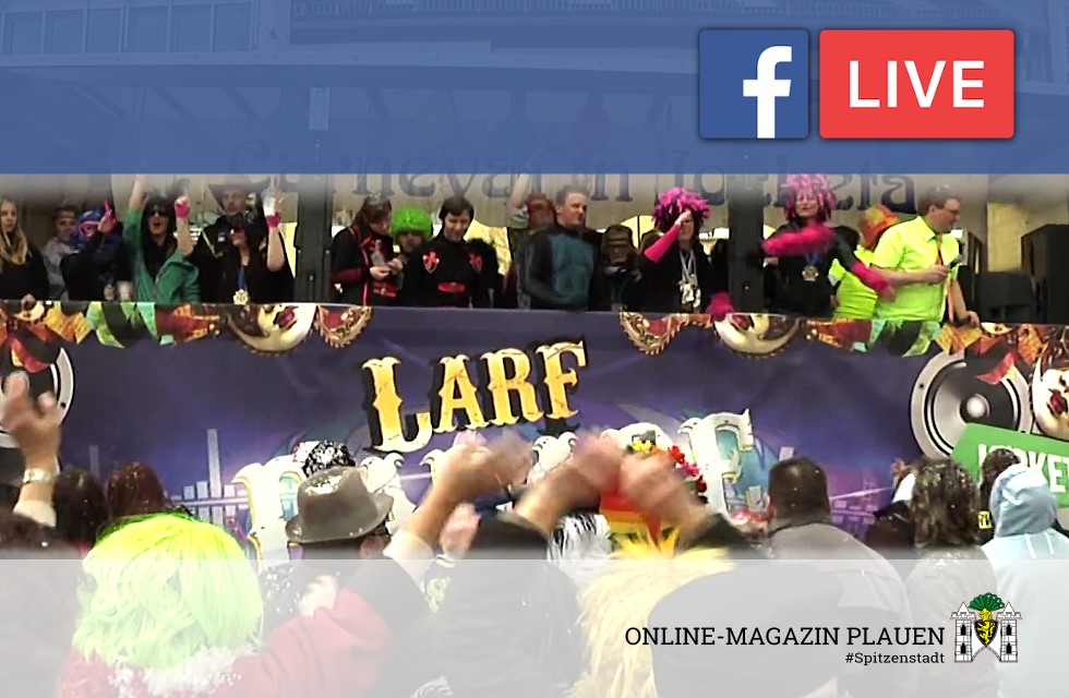 Live: Der Plauener Faschingsumzug 2017