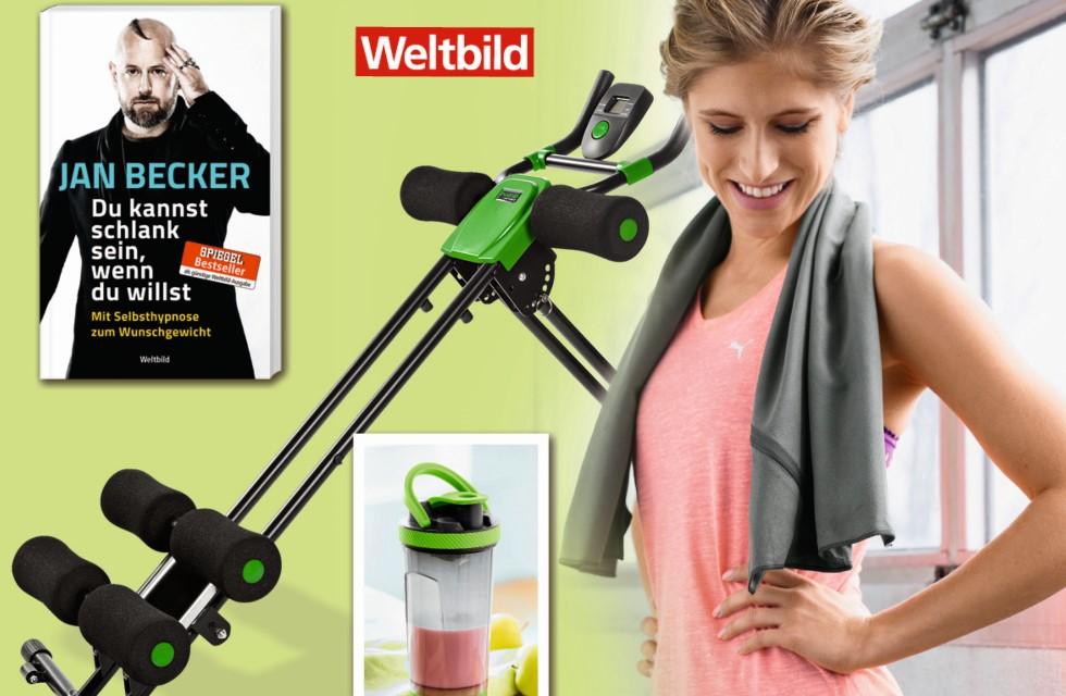 Fitness-Paket von Weltbild in Plauen gewinnen