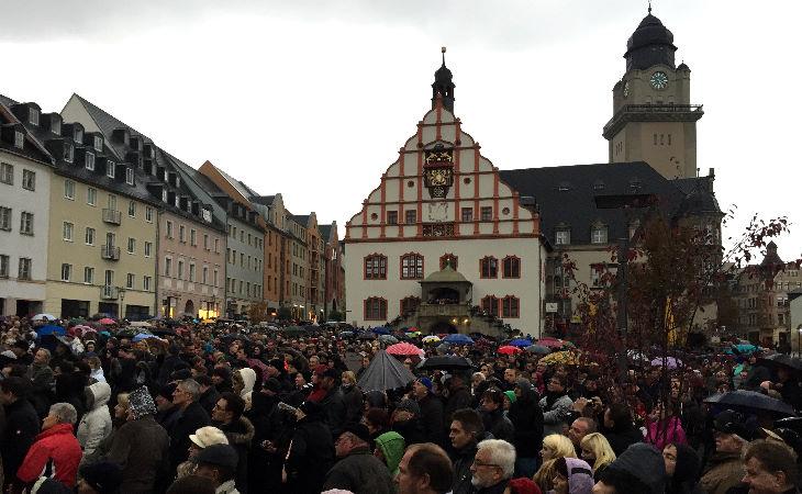 Gruppe aus Plauen will zeigen: Wir sind Deutschland