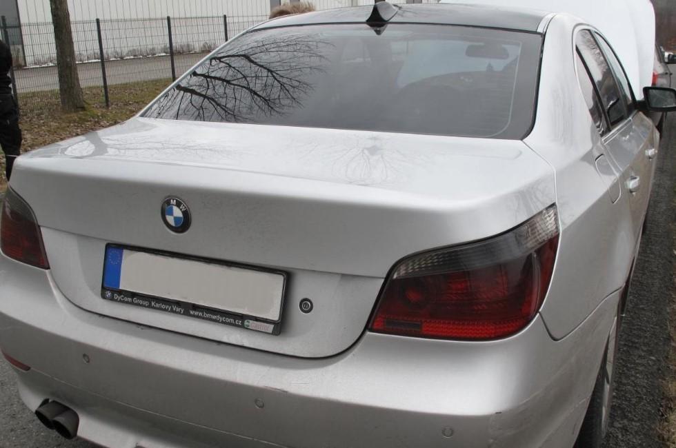 2007 in Italien gestohlener BMW taucht im Vogtland wieder auf