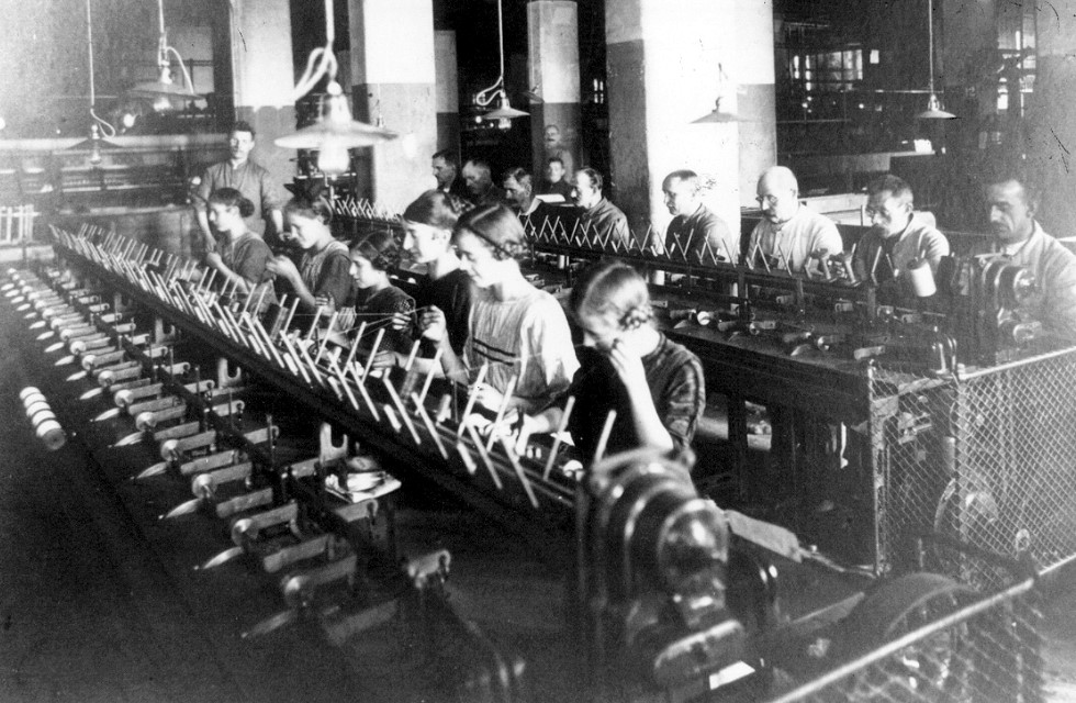 Kinderarbeit in den sogenannten Industriewerken Foto Vogtlandmuseum