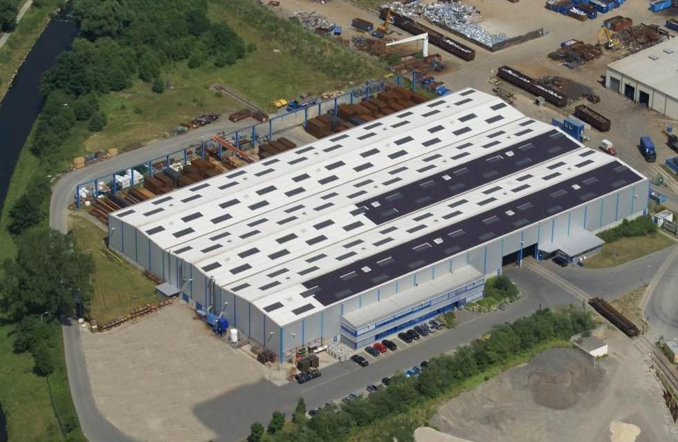 Köstner Stahlzentrum in Plauen wächst