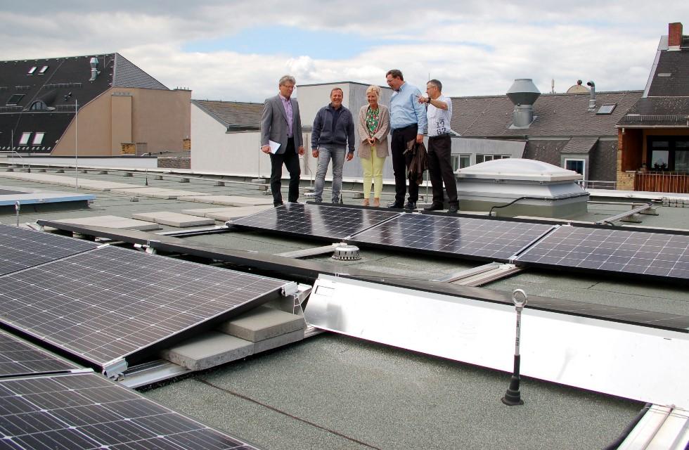 Lanratsamt in Plauen nutzt jetzt Sonnenergie