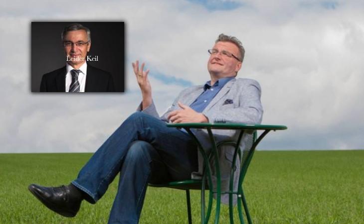 Leider Keil: Pfretzschner singt Schmähgedicht für Landrat Keil