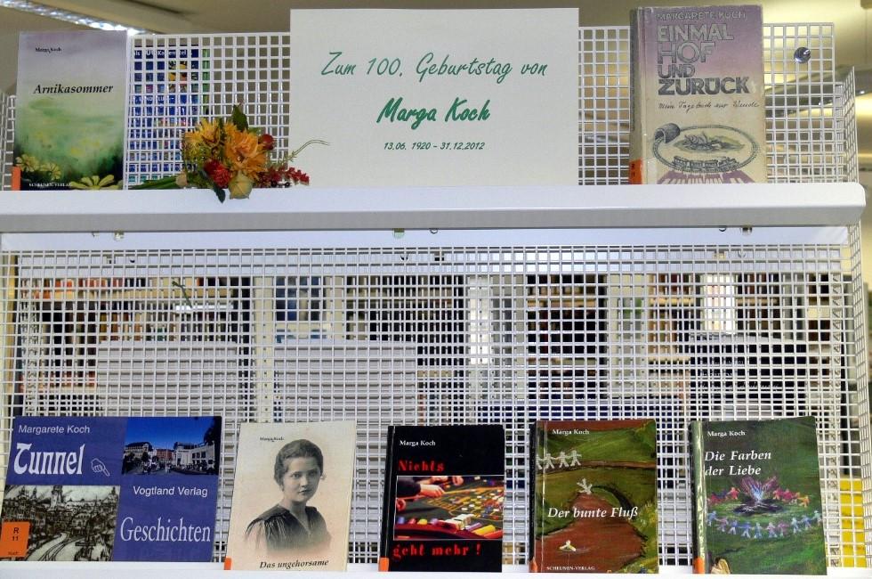 Vogtlandbibliothek Plauen zeigt Marga Kochs Werke