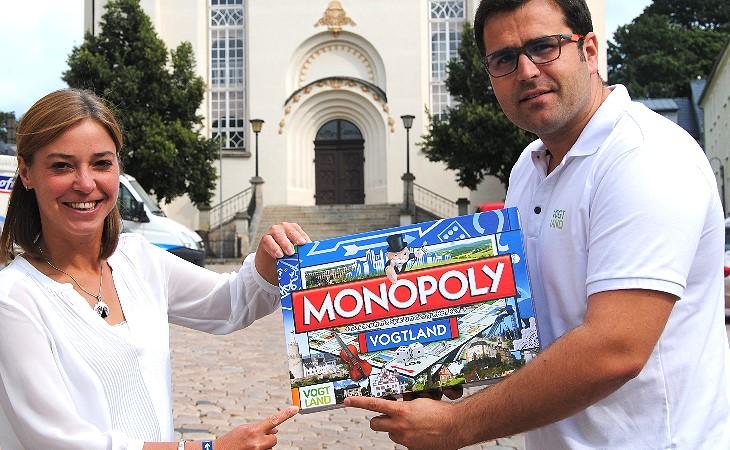 Vogtland mit eigener Monopoly-Ausgabe