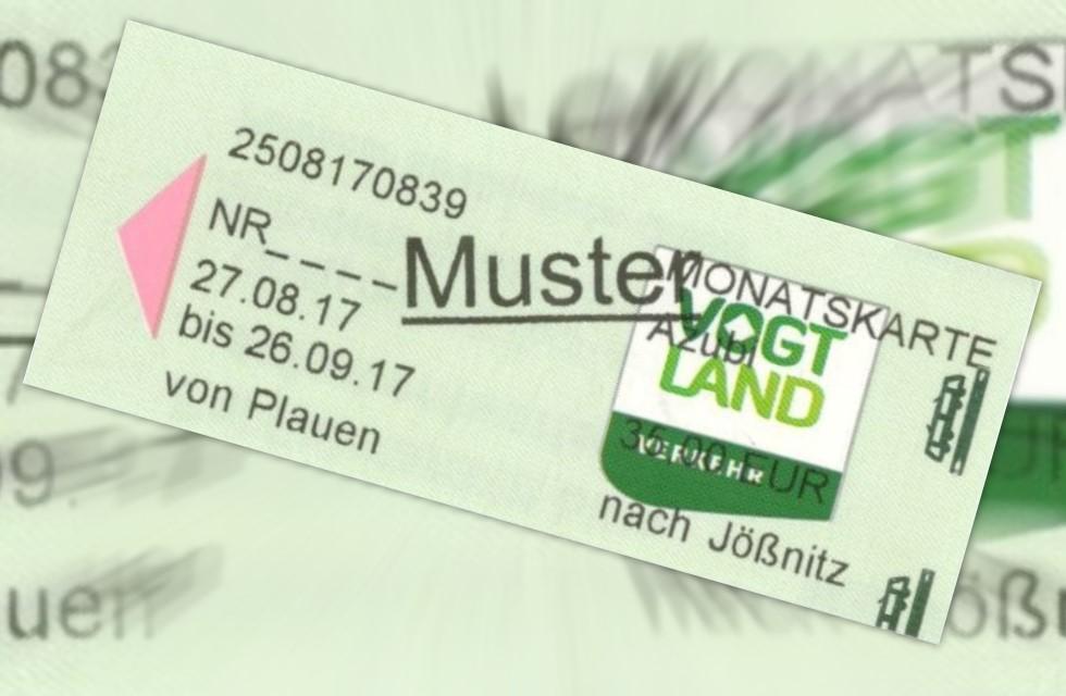 Straßenbahn Plauen: Neue Fahrscheine mit V-Logo