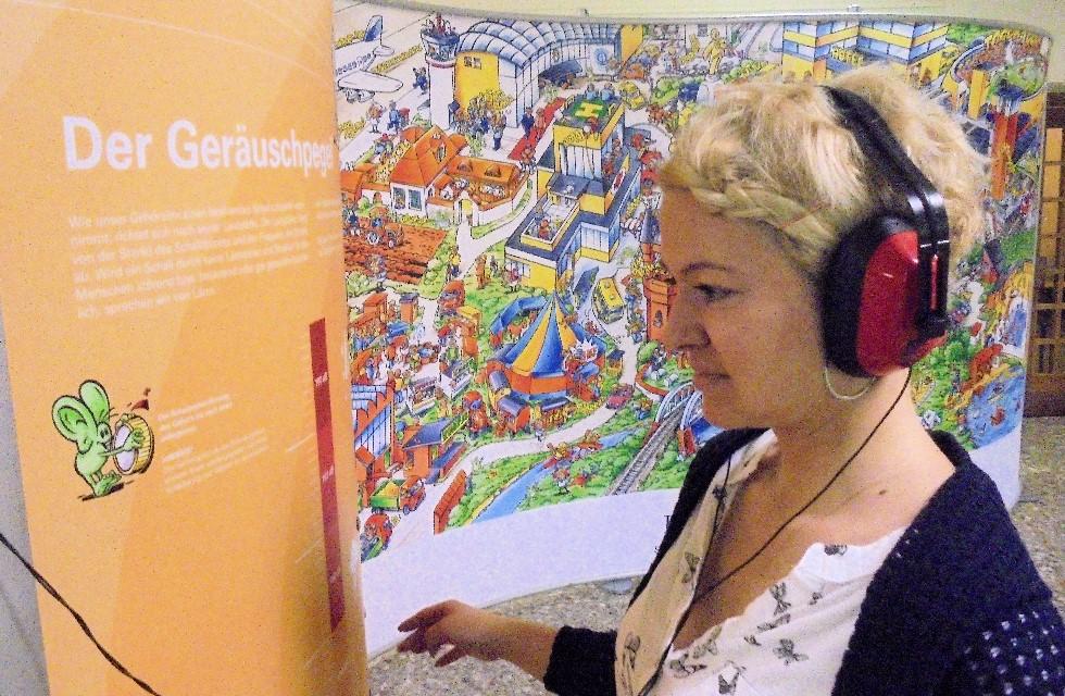 Aktuelle Ausstellung: So viel Lärm macht die Stadt