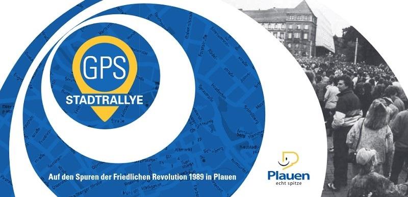 Wende-Stadtrallye in Plauen per GPS
