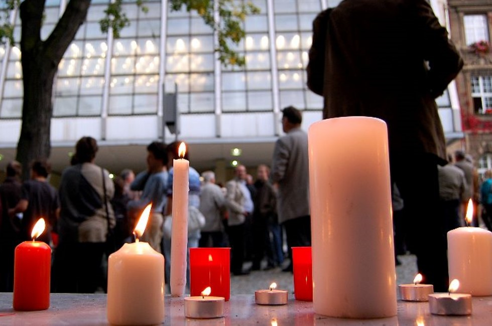 Plauen gedenkt 7. Oktober 1989