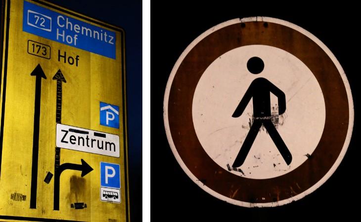 Verein nimmt Verkehrszeichen in Plauen unter die Lupe