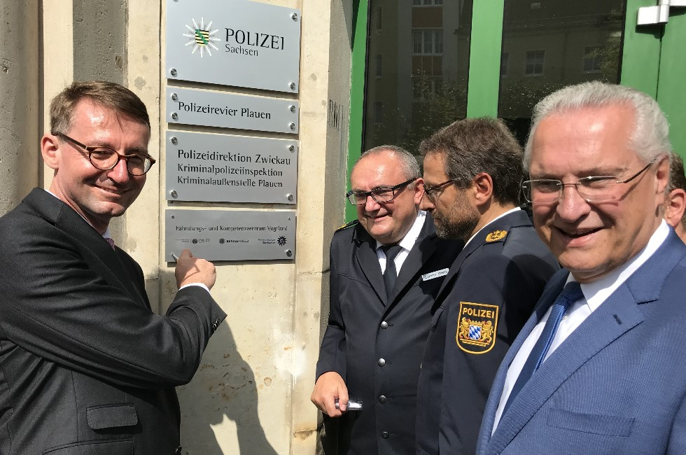 Fahndungs-Zentrum in Plauen soll Grenzkriminalität bekämpfen