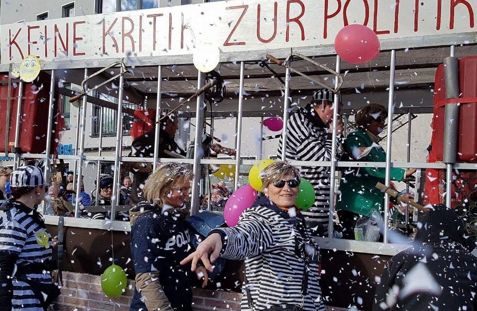 Tausende bei 23. Plauener Faschingsumzug dabei
