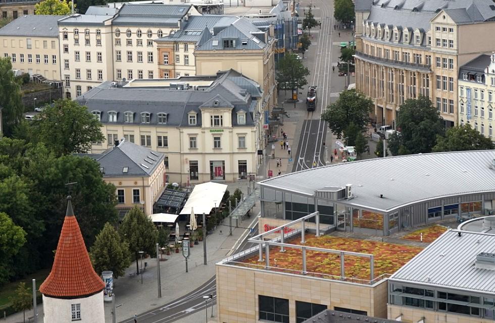 Polizei Plauen: Straftaten im Stadtzentrum deutlich gesunken