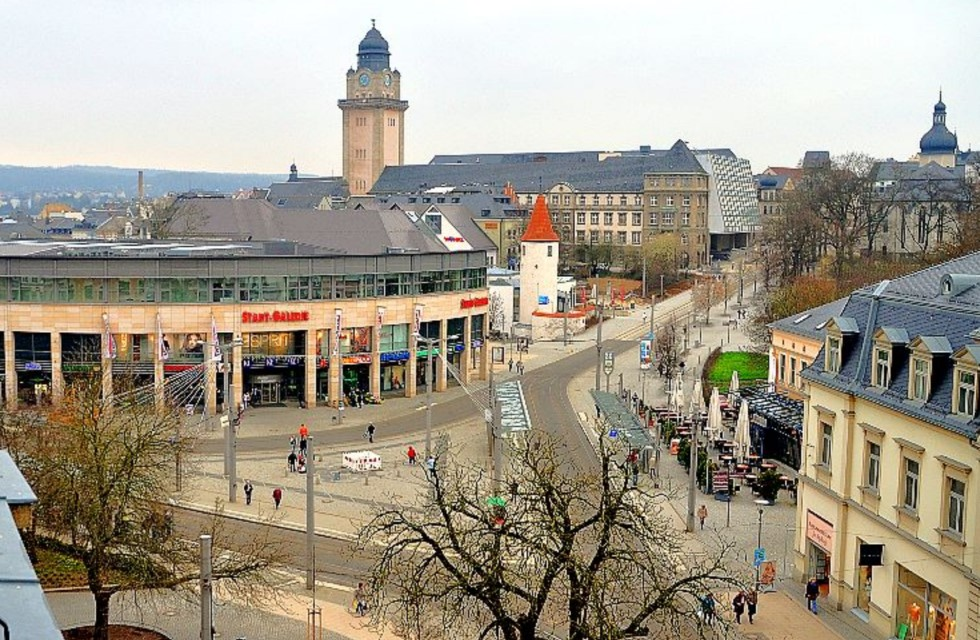 Postplatz Plauen