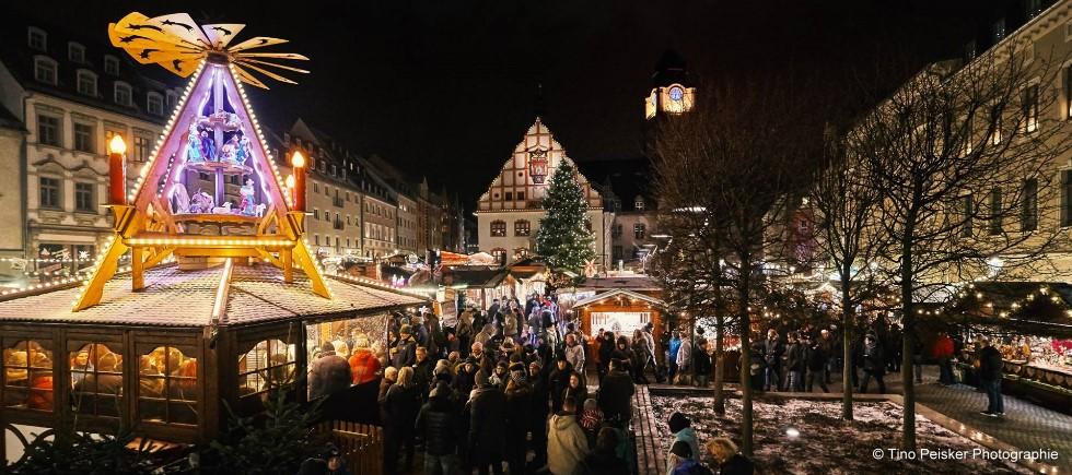 Programm und Höhepunkte Weihnachtsmarkt Plauen  © Tino Peisker Photographie