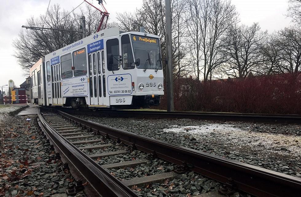 Straßenbahn Plauen: Grundhafte Erneuerung der Reusaer Wendeschleife