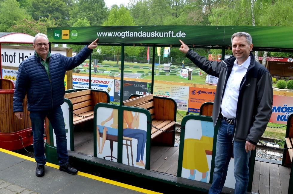 Parkeisenbahn Plauen startet in neue Saison